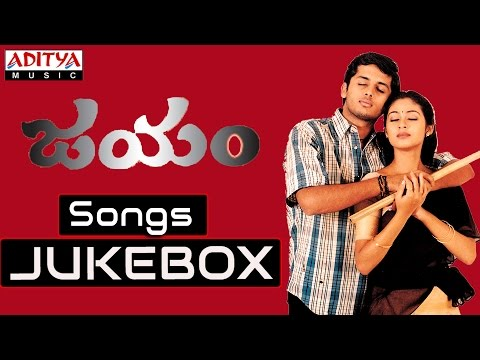 Jayam Telugu Movie  Songs || Jukebox || Nithin Sadha