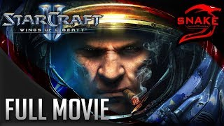 Starcraft 2: Wings of Liberty   Full Storyline   All Cinematics   1080p 60FPS