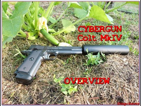 Airsoft - Overview Colt MkIV CO² Cybergun [ENG subs]