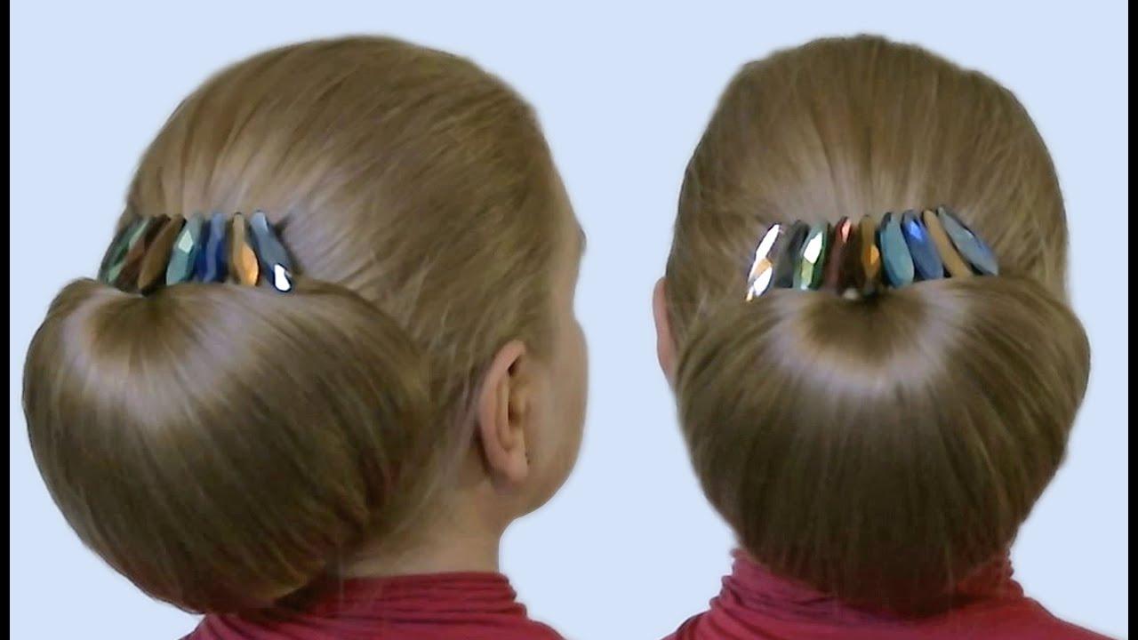 Причёска бабетта своими руками 330