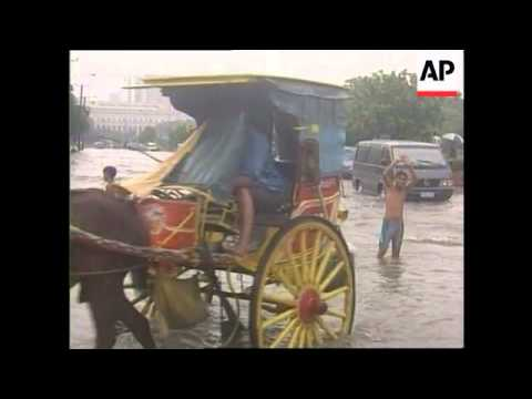 Philippines - Monsoons cause flooding
