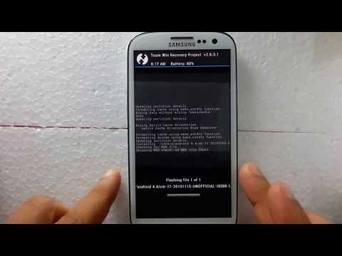 How to Install Android 4.4 KitKat on Samsung Galaxy S3 GT-I9300.GT-I9305.SGH-I337.SPH-L710