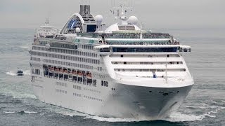 SUN PRINCESS - Princess Cruises Lines cruise ship - June 2014