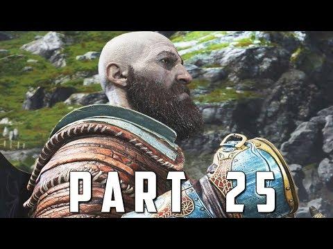 GOD OF WAR Walkthrough Gameplay Part 25 - FOREST ANCIENT (God of War 4)