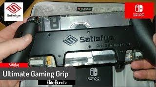 Satisfye - The Ultimate Gaming Grip Elite Bundle - Nintendo Switch grip