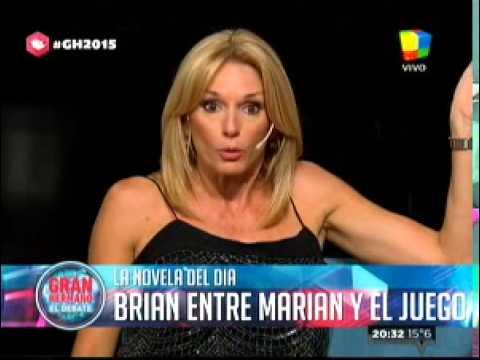"""""""Gran Hermano 2015"""": Marian desconcentra a Brian en sus estrategias"""