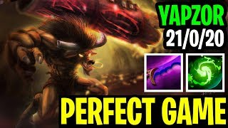 Perfet Game Of The Best Earthshaker In The World - Yapzor 21/0/20 - Dota 2