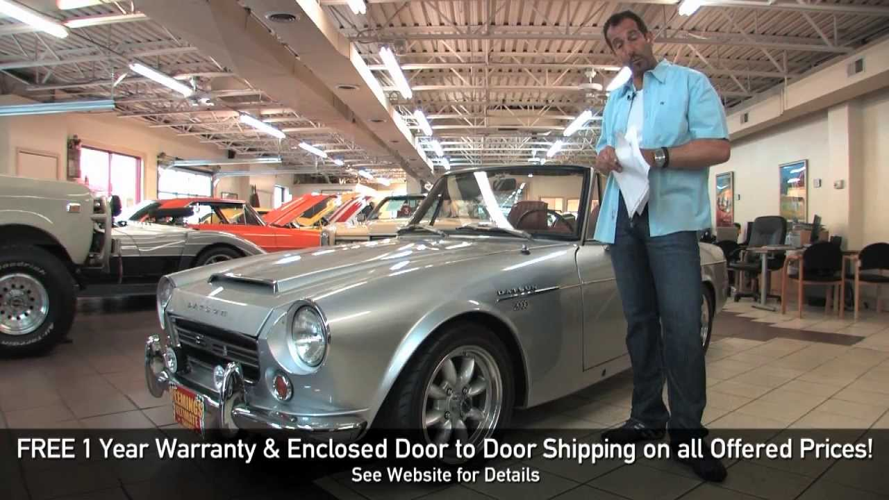 1969 Datsun 2000 Roadster For Sale With Test Drive