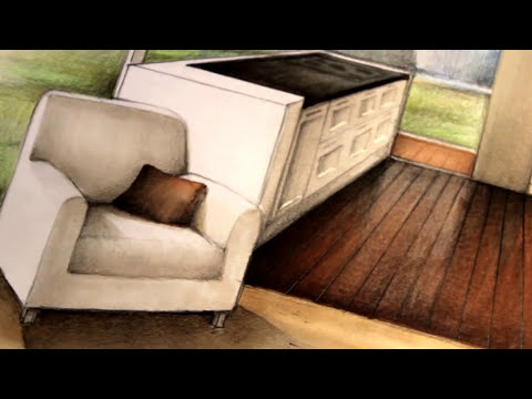 Manual Rendering / Architecture Interior - Speed Drawing