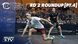 Squash: Tournament of Champions 2019 - Men's Rd 3 Roundup [Pt.1]