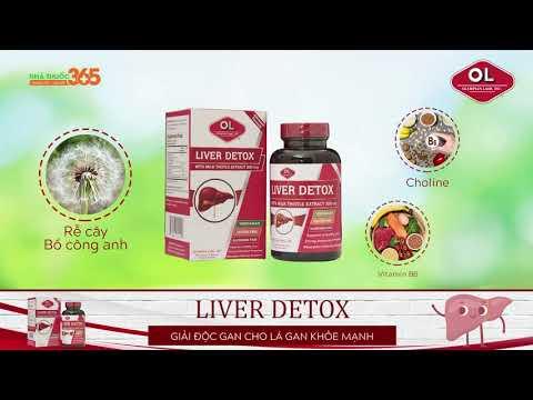 Liver Detox giải độc gan cho lá gan khỏe mạnh