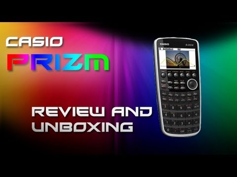 Casio Prizm fx-CG10 Review and unboxing