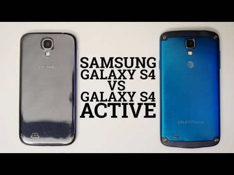 Samsung Galaxy S4 vs Galaxy S4 Active
