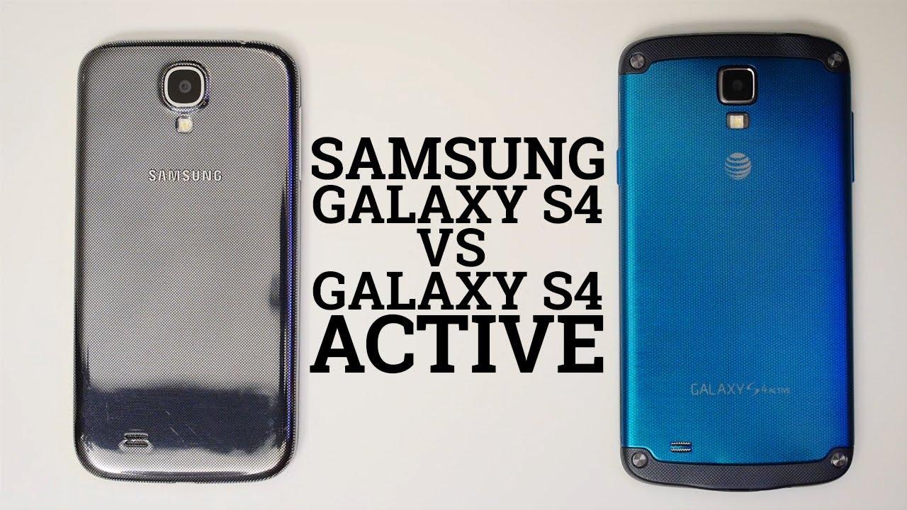 samsung galaxy s4 vs galaxy s4 active youtube. Black Bedroom Furniture Sets. Home Design Ideas