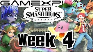 Super Smash Bros. Ultimate Update: City Trial, Kongo Falls, Krystal & Knuckles, PokéTrainer - Week 4