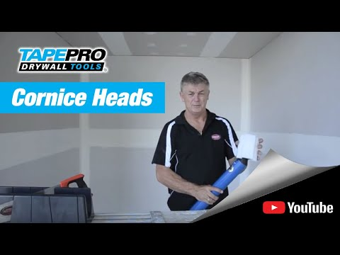 Using the Tapepro Cornice Heads