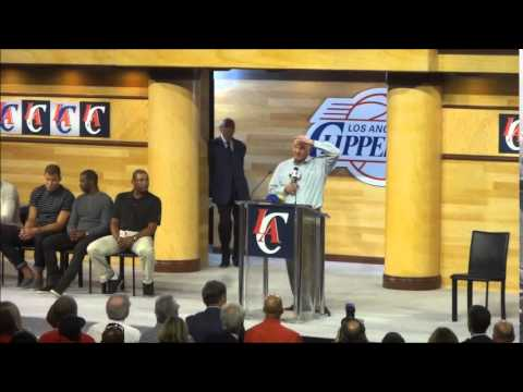 Steve Ballmer Speaking At Clippers Fan Festival –iFolloSports.com