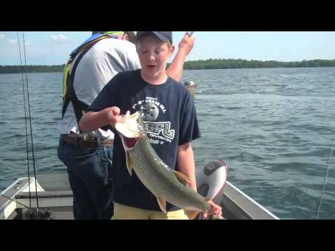 Fishing for Lake Trout on Crow Lake