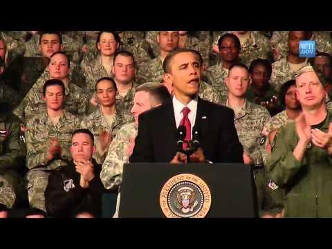 President Obama Visits Elmendorf Air Force Base