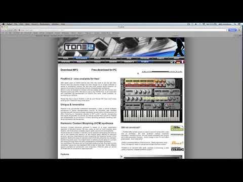 Descarga Gratis!!! Programas De Musica Y Sintetizadores Para Mac & Pc.