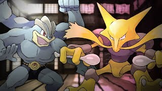 Machamp vs Alakazam. Epic Rap Battles of Pokémon #6.