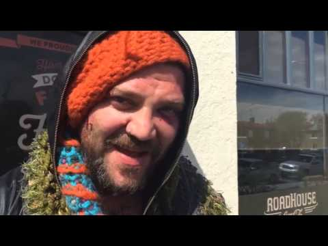 Bam Margera punched by Icelandic rappers
