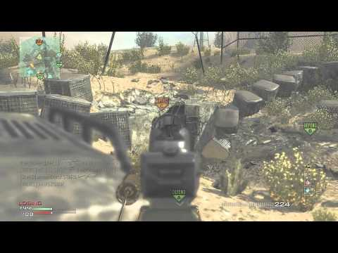 MW3: P90 MOAB On Dome :: Living Your Dreams!