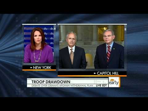 Senators on Obama's Afghan drawdown plan