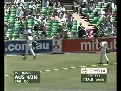 Justin Langer 144 vs Pakistan 1999 3rd test Perth