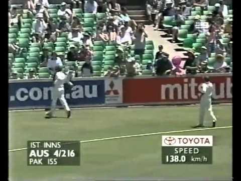 Justin Langer 144 vs Pakistan 1999 3rd test Perth