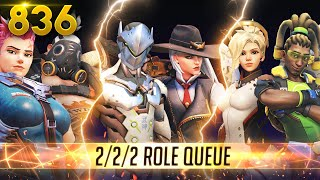 2/2/2 ROLES *NEW* COMP MODE IS HERE!! | Overwatch Daily Moments Ep.836 (Funny and Random Moments)