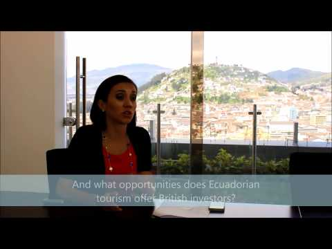 Ecuador Tourism Minister Ecuador's Minister For