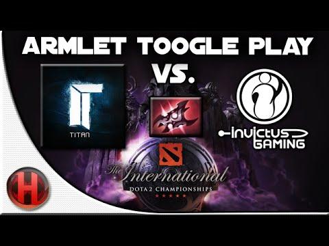 Dota 2 - #TI4 Titan.NWP Armlet Toggle Play vs iG