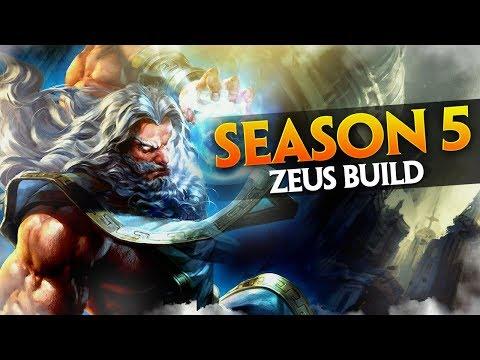 SMITE: Zeus - BUILD SEASON 5
