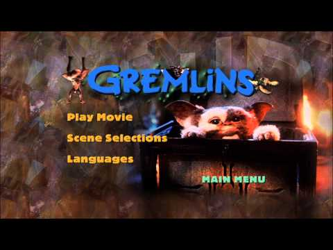 Gremlins UK DVD Menu [Region 2]