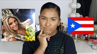MY THOUGHTS ON MISS UNIVERSE PUERTO RICO 2019 | Natalia Garcia