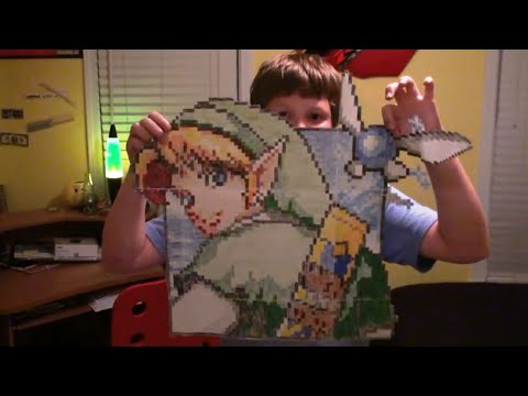 Crazy Zelda Graph Paper Characters Jacobs Made!