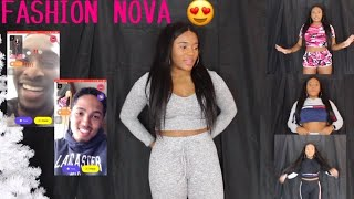 RANDOM GUYS RATE MY FASHION NOVA OUTFITS ON MONKEY APP!! || TRY ON HAUL 😍