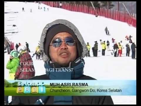 SP Goes To Korea #2 Wisata Ski Gangwon Do Korea Selatan