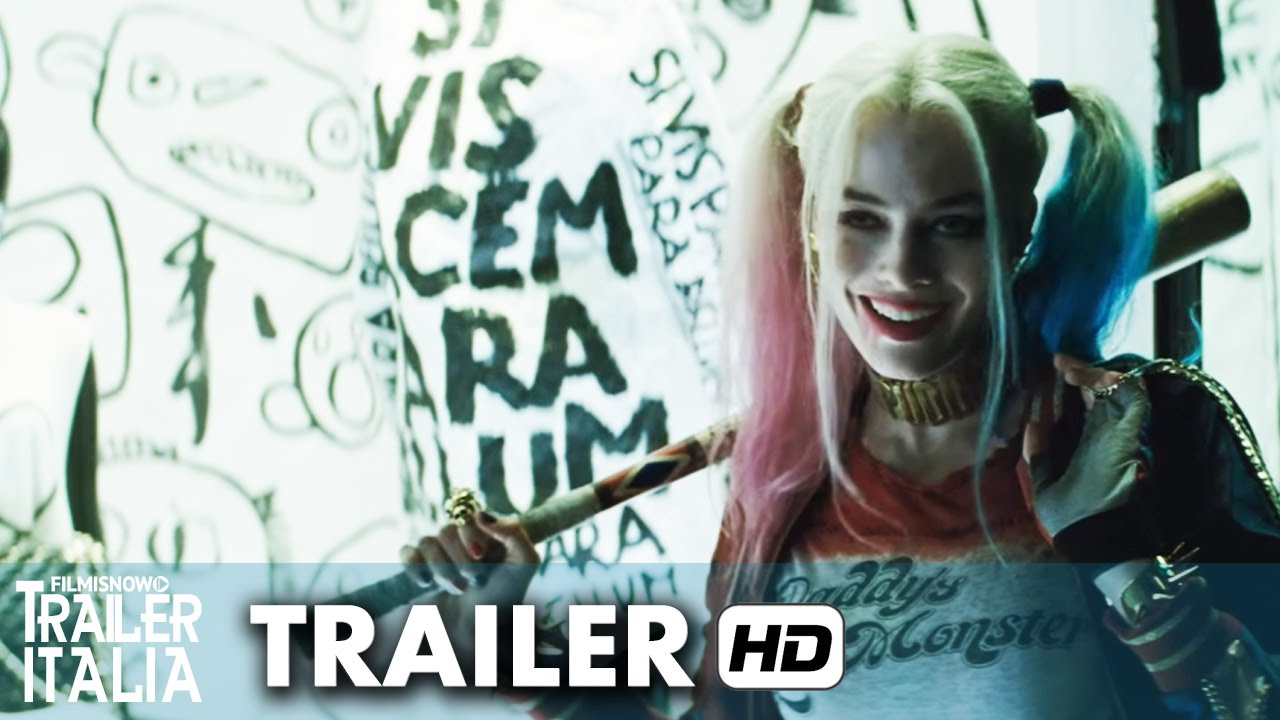 SUICIDE SQUAD Trailer Italiano Ufficiale - DC Comics Movie [HD]