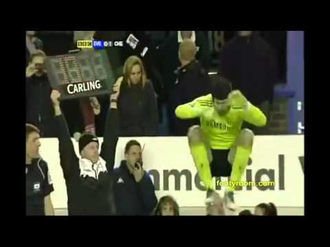 The Best Penalty save of Petr Cech 2011/2012 ( Everton v Chelsea Carling Cup )