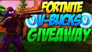 Fortnite server are down :( / Free vbucks Giveaway 100% Legit / Read the Description Below to Enter