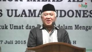 Din Syamsuddin Kritik Islam Berkemajuan dan Islam Nusantara