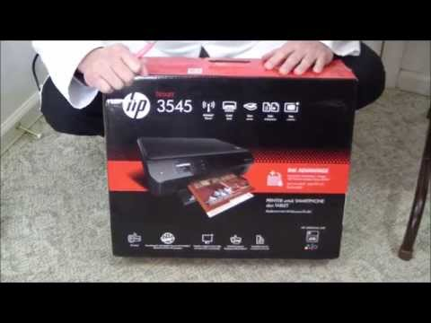 HP Deskjet Ink Advantage 3545 Unboxing & Setup
