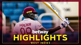 Highlights   West Indies v Pakistan   1st Test Day 2   Betway Test Series presented by Osaka