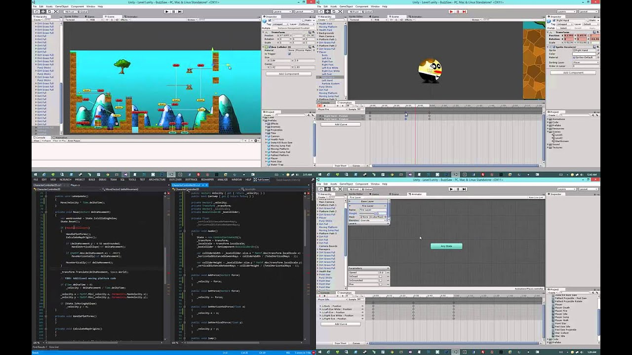 3d buzz unity tutorials