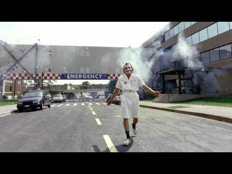 ' Coringa explodindo o Hospital ; #HD