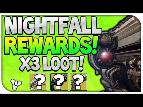 Destiny : Nightfall Rewards X3!!! (Such a .... Week)