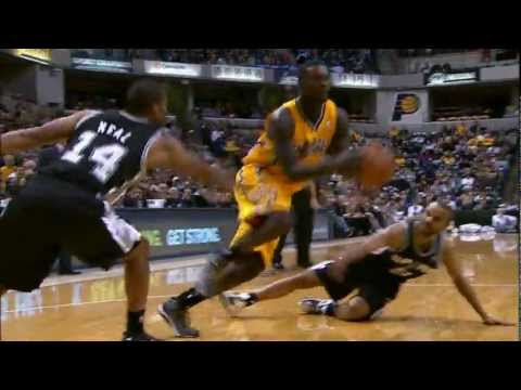 Stephenson's spin move twists up Parker!