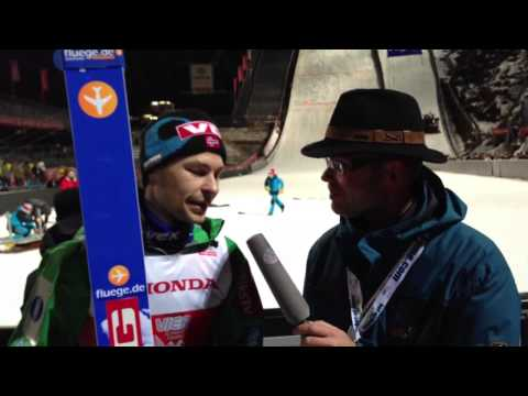 Anders Jacobsen winning four hills event Oberstdorf